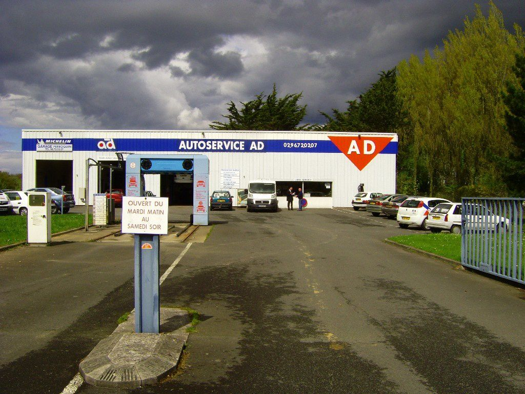 Album photos des garages ad et ad expert ad armorique for Garage ad erquy