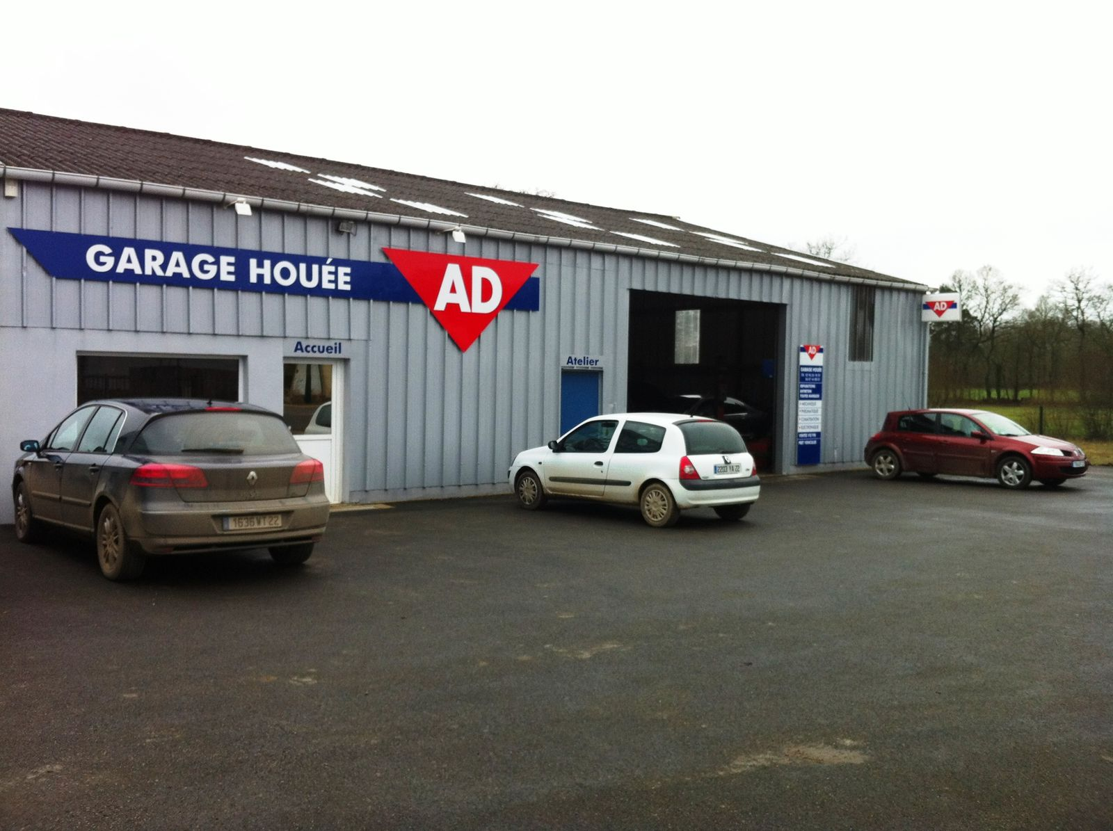 Album photos des garages ad et ad expert ad armorique for Garage ad expert montpellier