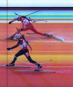 Photo Finish Poirée Bjoerndalen
