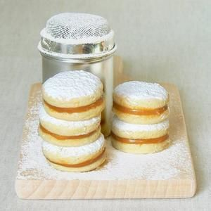 Biscuits argentins Alfajores de Cakes in the City