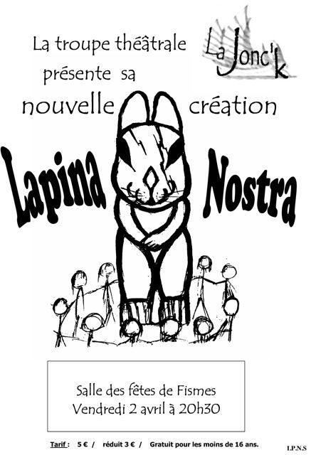 Affiche lapina nostra Fismes 02 avril 2010