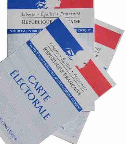 Cartes d'électeur