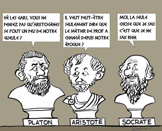 Platon Aristote Socrate