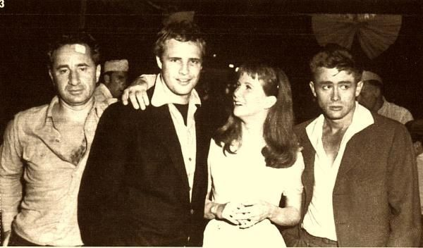 Brando-James Dean-Julie Harris