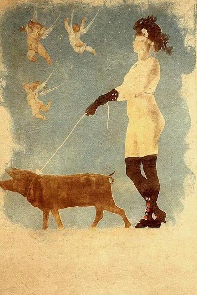 Pornocratès-Félicien Rops-1896