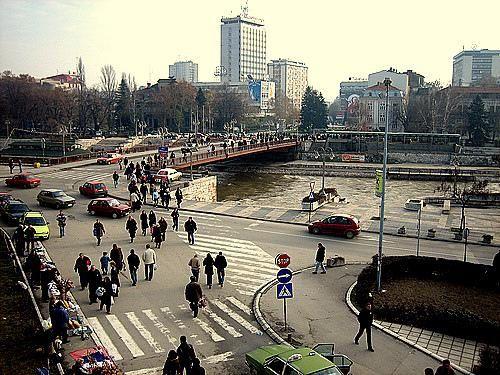 Belgrade 1967-la ville-le Danube
