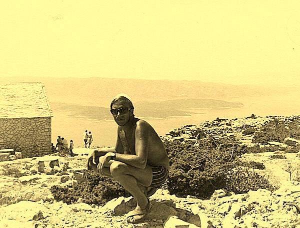 Dalmatie 1970-Ile de Brac-Supetar-Yougotour
