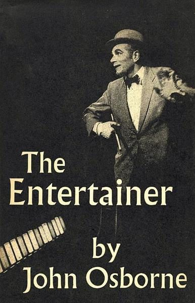 Laurence OLIVIER-Londres 1956-Old Vic Theatre-The entertainer-christian vancau