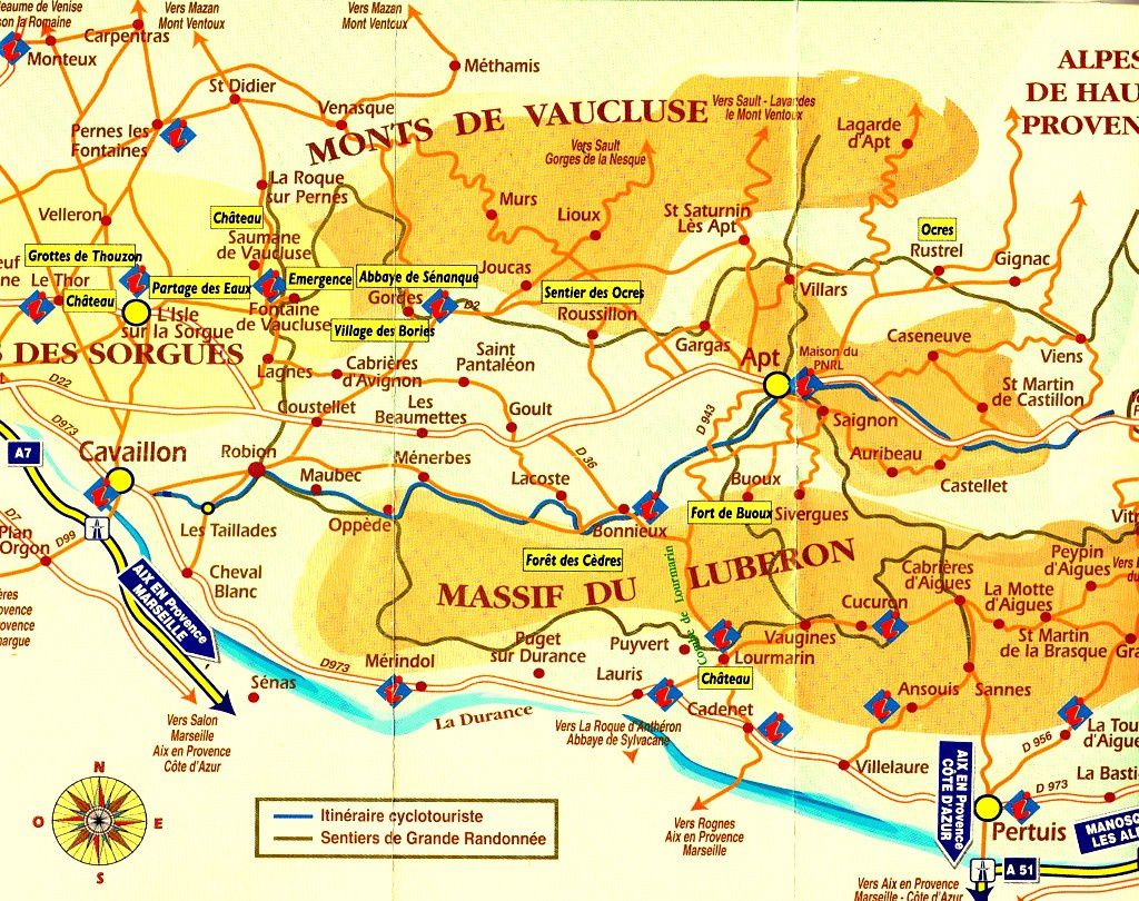 Info luberon carte voyages cartes - Le journal du vaucluse ...