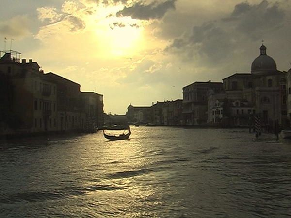 Venise-Le grand Canal en 2007