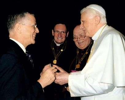 John Haas and BXVI