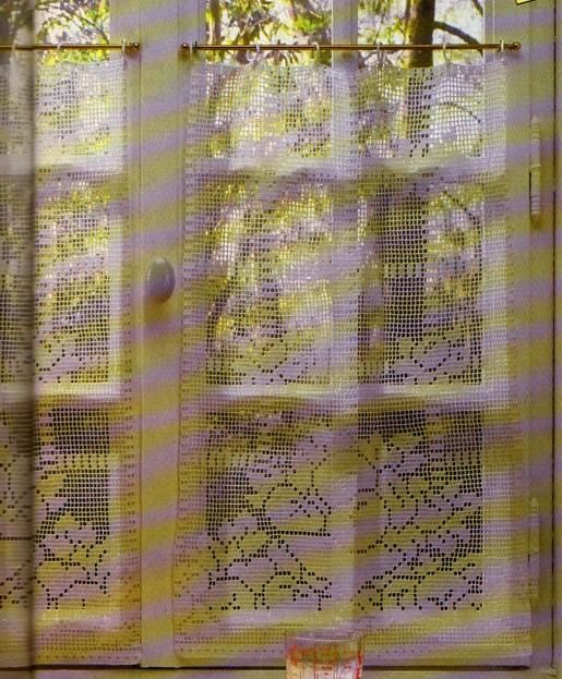 Crochet Les Rideaux De Cuisine La Boutique Du Tricot Et Des Loisirs Cr Atifs