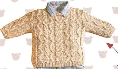 modele tricot pull garcon 3 ans