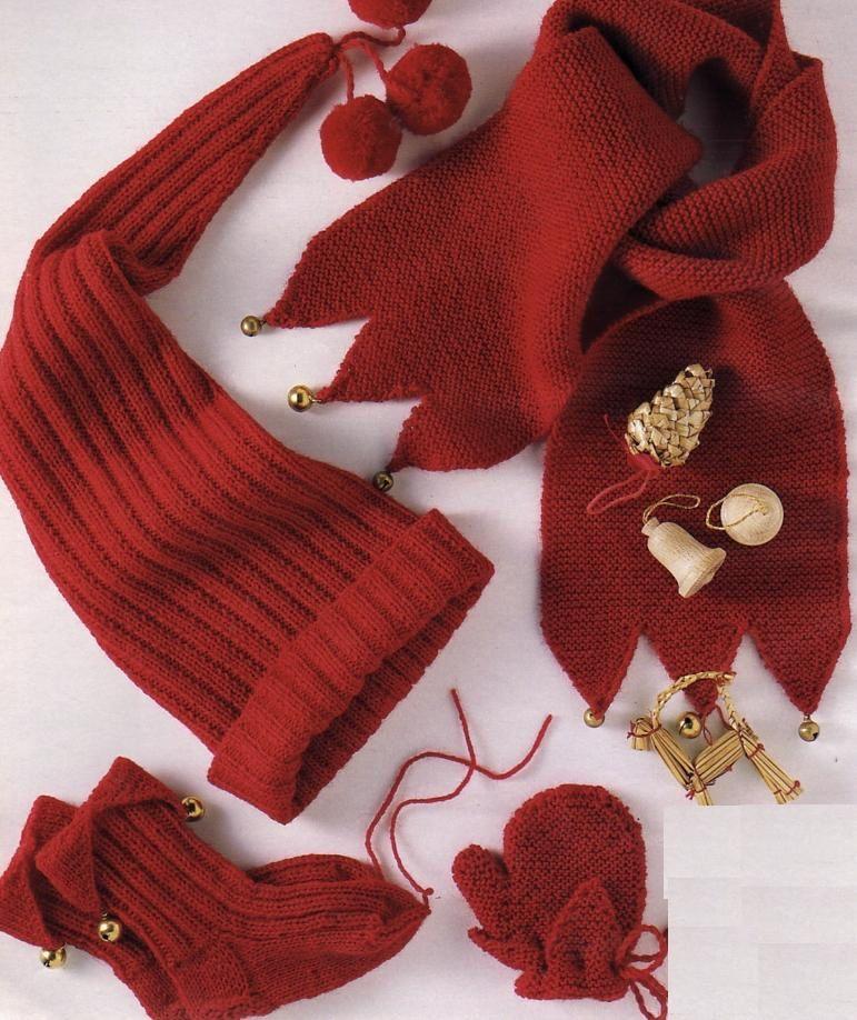 patron tricot tuque lutin