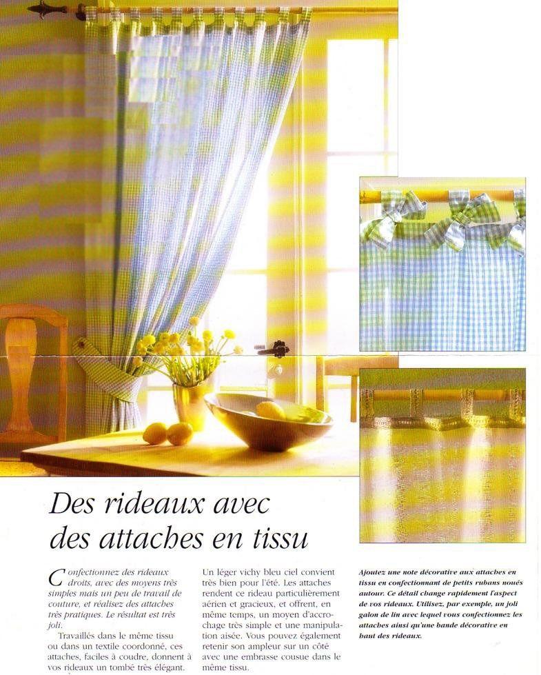 couture des rideaux avec attaches la boutique du. Black Bedroom Furniture Sets. Home Design Ideas