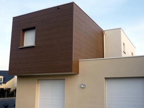 Habitat contemporain pr s de rennes architecture et for Habitat contemporain