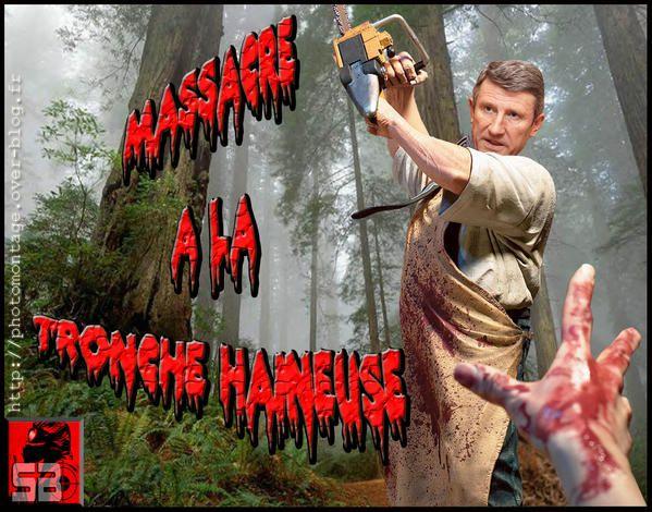 parodie massacre a la tronconneuse