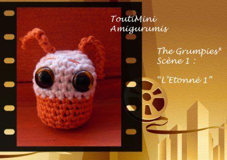 """J'ai un autre blog : """"ToutiMini Amigurumis"""" qui ne parle, biensûr, QUE d'Amigurumis. Voici les photos de mes petites créations."""