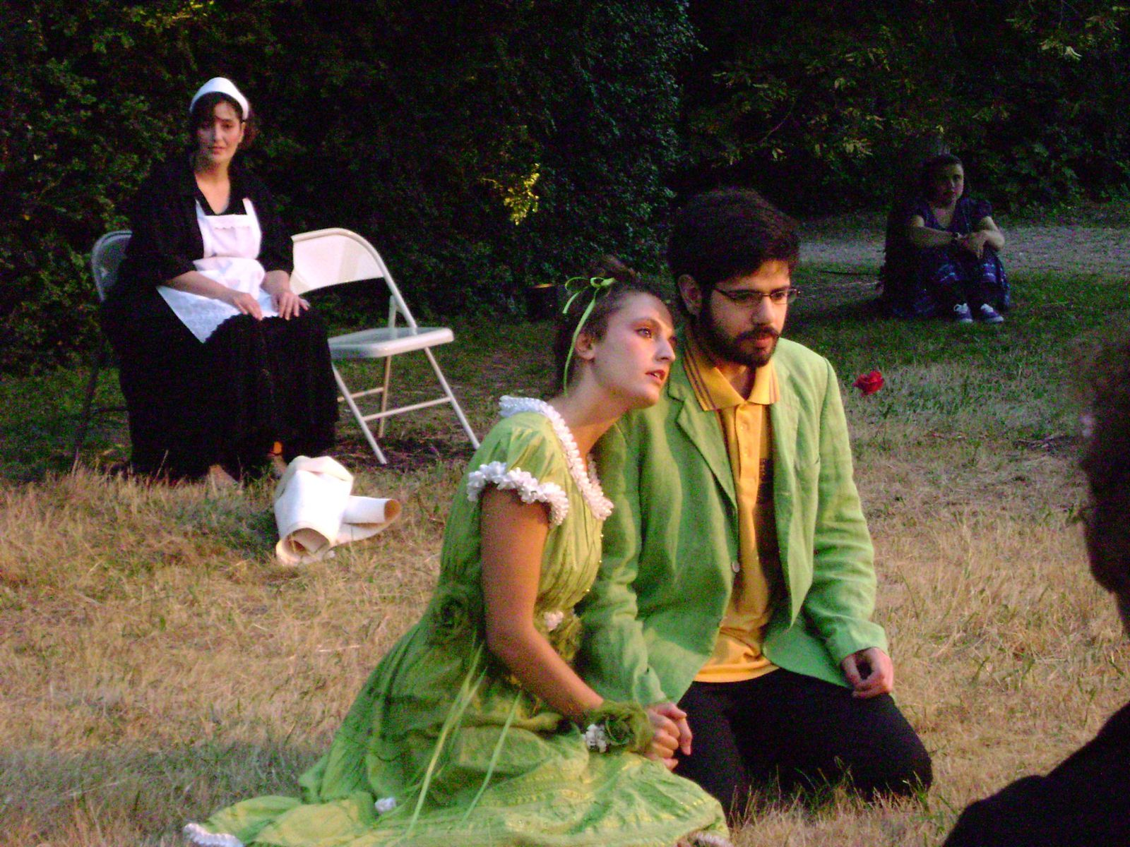 In Le malade imaginaire, Montauger 2009