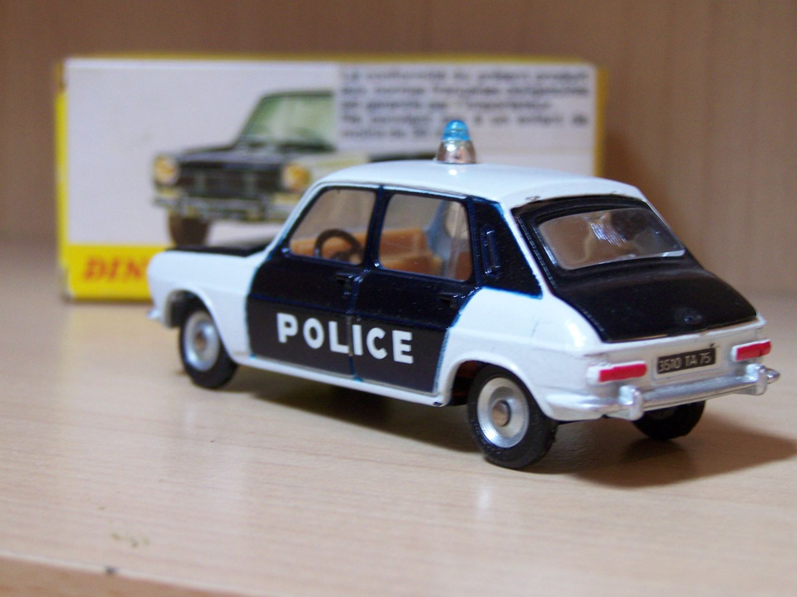 simca 1100 police dinky le blog des voitures et camions miniatures anciens. Black Bedroom Furniture Sets. Home Design Ideas