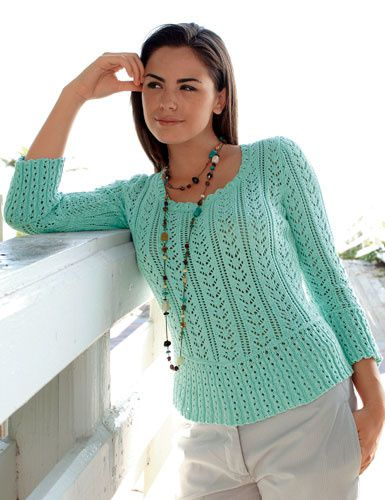 Pull manches 3/4 - Mon pull-over