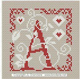 Alphabet miniature A