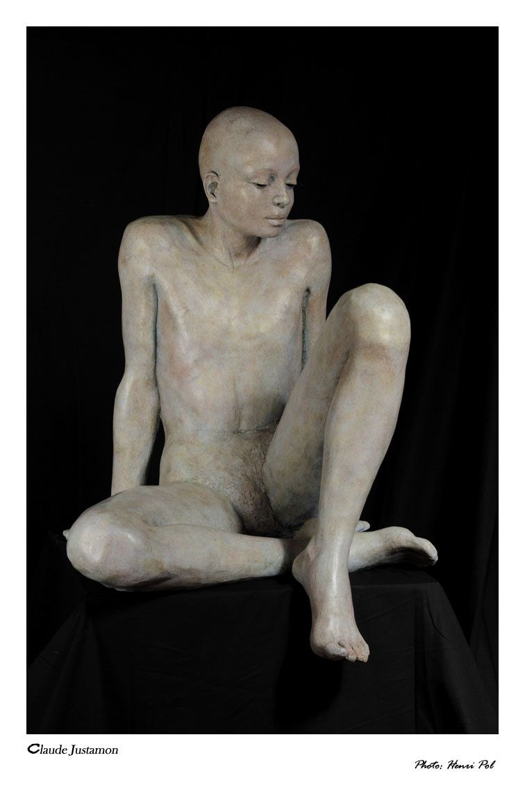 Claude travaille la terre et en fait de merveilleux bronzes. Rencontre d'une artiste avec mes lumières et mon regard.