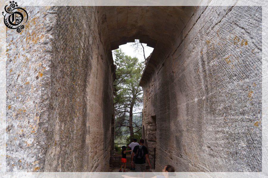 Abbaye saint roman troglodyte 5