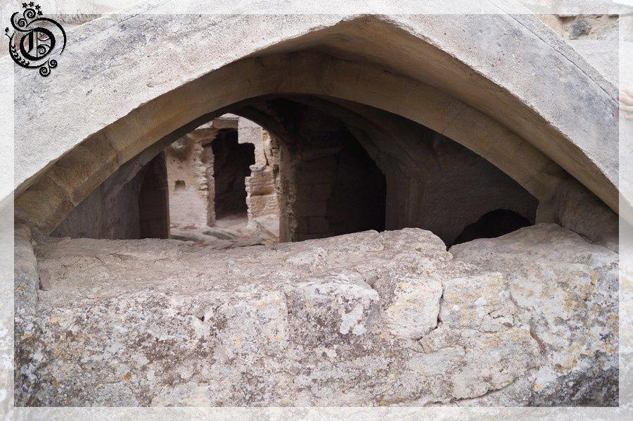 Abbaye saint roman troglodyte 7