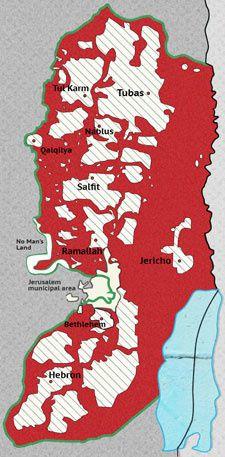 carte judée-samarie