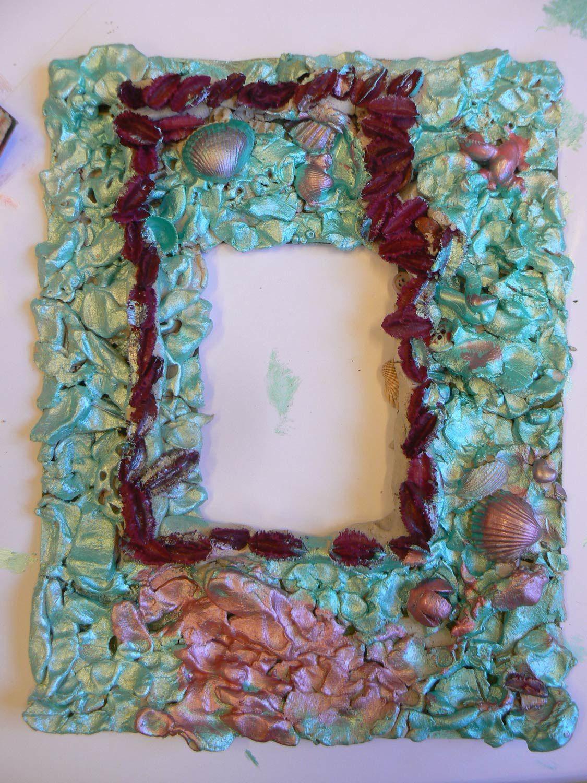 Souvent Cadre en argile - MS Maternelle Renan b Villeurbanne 2012  UD28