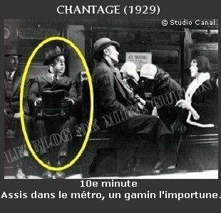 1929-apparition Hitchcock Chantage