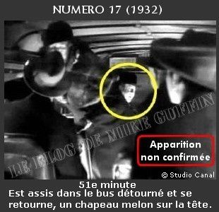 1932-apparition Hitchcock-Numero 17