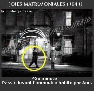 1941-apparition Hitchcock Joies matrimoniales