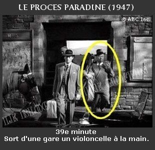 1947-apparition Hitchcock Le Proces Paradine s