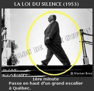 1953-apparition Hitchcock La loi du silence