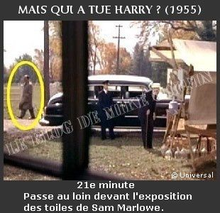1955-apparition Hitchcock Mais qui a tué Harry