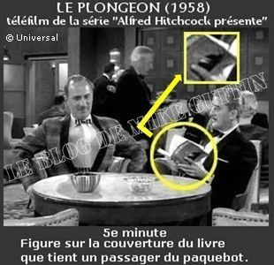 1959 apparition Hitchcock téléfilm Le Plongeon