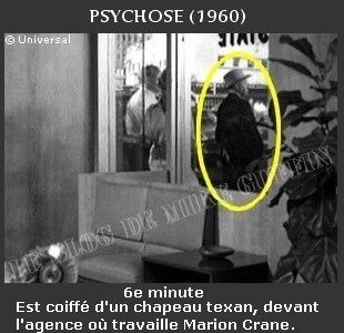 1960-apparition Hitchcock Psychose