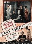 1927 Easy virtue affiche