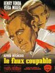 1956 Le faux coupable affiche