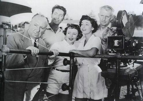 1951 L inconnu du Nord Express tournage