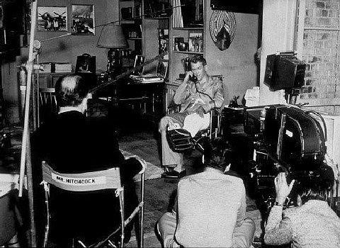 Fenetre sur cour Hitchcock tournage