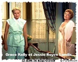Grace Kelly Jessie Royce Landis La main au collet