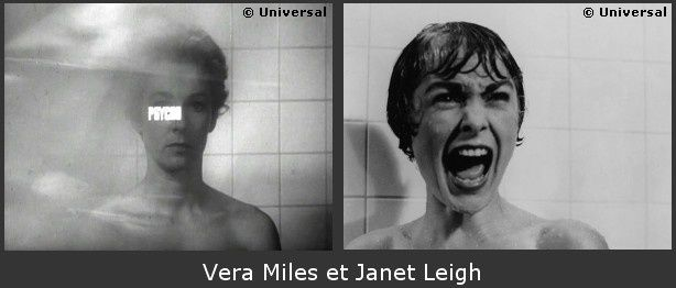 Psychose Vera Miles vs Janet Leigh