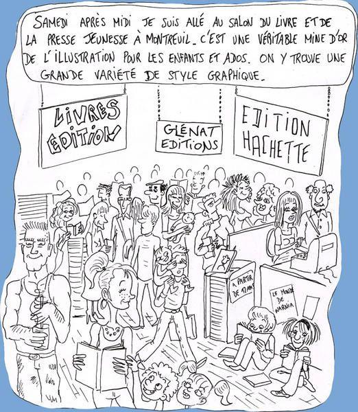 Un saut au salon du livre jeunesse de montreuil le blog for Salon du livre jeunesse montreuil