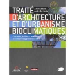 Traite architecture et urbanisme bioclimatiques