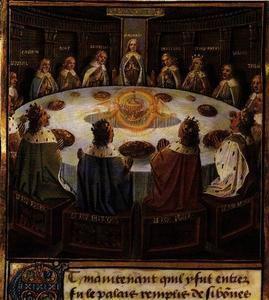 Le graal la l gende des chevaliers de la table ronde - Lancelot et les chevaliers de la table ronde ...