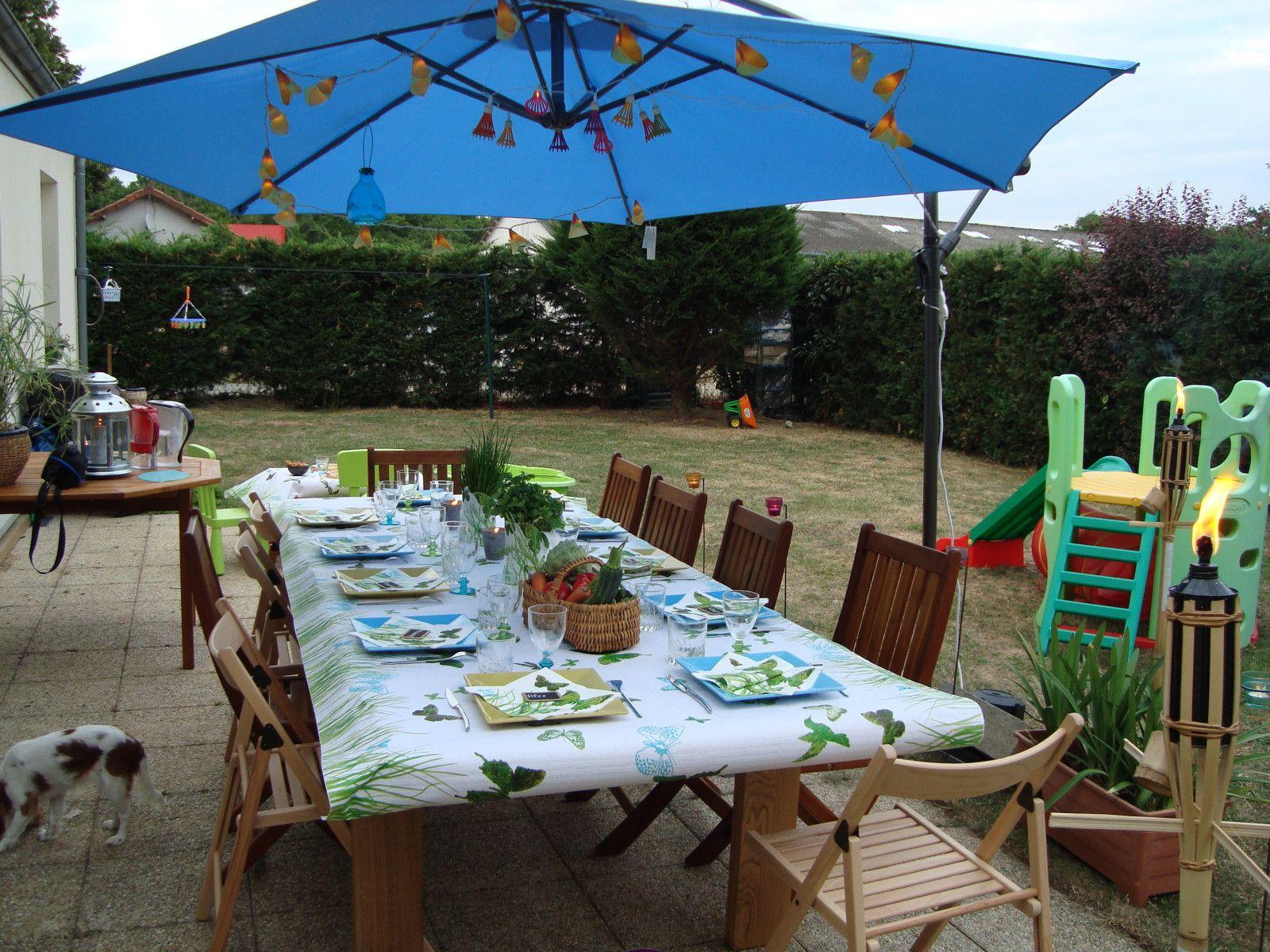 album diner estivale au jardin ju cuisine