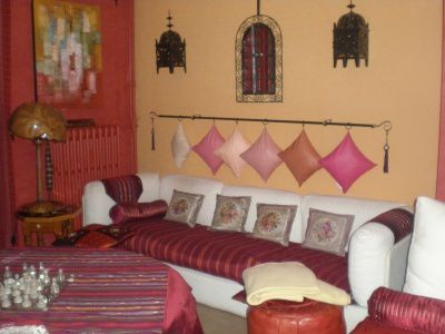 D corer son salon deco a la maison for Deco petit salon marocain